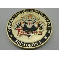 Buy cheap Double Sided Officer School Personalized Coins with synthetic enamel and Gold, Copper, Silver Plating from wholesalers