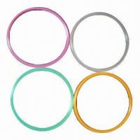 Buy cheap O-rings, Made of 100% Silicone, Customized Designs and Sizes are Accepted, -approved product