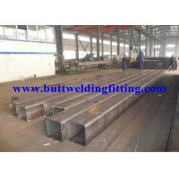 Buy cheap ASTM A500 GR.B MS Large Carbon Steel Pipe 75x75 , Square / Rectangular Shaped from wholesalers