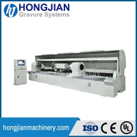 Quality Laser Engraving Machine for Embossing Cylinders Embossing Rolls for Wallpaper Artificial Leather Tissues Wood Decor for sale