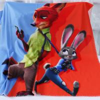 Buy cheap Real Cartoon Character Digital Print Blanket , Sherpa Flannel Throw Blanket from wholesalers