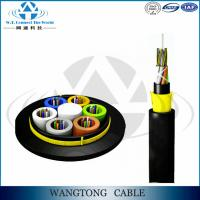 Buy cheap ADSS fibre optic cable 96core 98 core self-support fiber optic cable price for Power Transmission Line from wholesalers