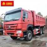 Buy cheap 6x4 Tipper Truck / Howo 6x4 Dump Truck ABS Service Brake 336hp Power from wholesalers