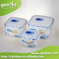 Buy cheap 3pcs Airtight Food Grade Plastic Home Containers for Food Storage Wholesale from wholesalers
