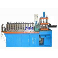 Buy cheap 18 Forming Station Door Frames Roll Forming Machine , Anti Rust Roller Forming Machine PLC Control product