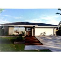 Buy cheap Prefabricated Light Steel Prefab Bungalow Homes / Bungalow House For Living from wholesalers