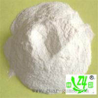 Buy cheap 5500 – 6000 cps food thickener guar gum powder with white a bland taste from wholesalers