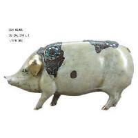 Buy cheap Home Decoration Polyresin Pig Figirine (D24-99006) from wholesalers