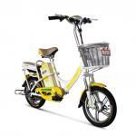 Buy cheap Adult / Student Lead Acid Electric Bike Jinling 36V , Steel Frame Electric Bike from wholesalers