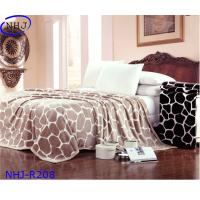 Buy cheap china wholesale mink wool plush fox fleece blanket NHJ-R208 from wholesalers