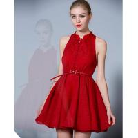 Buy cheap Sexy Chiffon Red Short Cocktail Party Dresses for Women / Girls / Ladies from wholesalers