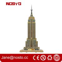 Buy cheap Intelligent DIY Building Paper 3D Puzzle Famous Building product
