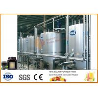 Buy cheap Complete Tomato Paste Processing Line , Mulberry Jam Production Equipment from wholesalers