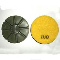 Velcro Concrete Floor Polishing Pads