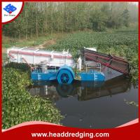 Buy cheap direct sale professional aquatic weed harvester river plants collecting machine product