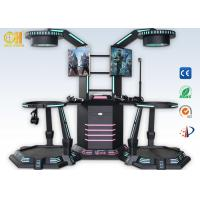 Buy cheap 9D Standing Virtual Reality Simulator With Gun Shooting Battle Game from wholesalers