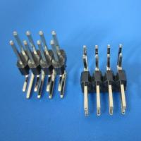 Buy cheap 2x40 Pin 2.54mm Double row Straight Male Header Right-angle - Black from wholesalers