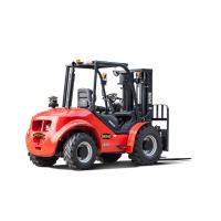 Buy cheap BENE all terrain forklift 3.5ton all terrain forklift truck with Perkins engine from wholesalers