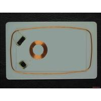 Buy cheap RFID Magnetic Card CR80 Smart Card Inlay 0.5mm 0.6mm 0.7mm  1K proximity card inlay from wholesalers