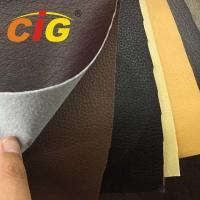 Buy cheap 65% Pvc Artificial Leather 140cm Width 0.85mm Thickness For Sofa Seat Cover product