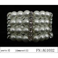 Buy cheap Factory Price Pearl Bangles/Bracelets, Austria Artificial Women Pearl Bracelet/Bangles from wholesalers