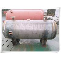 Buy cheap 3000 Liter Stainless Steel Air Receiver Tank , Pneumatic Compressed Air Reservoir Tank product
