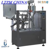 Buy cheap Cream Automatic Tube Filling and Sealing Machine For Plastic Tube from wholesalers