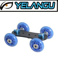Buy cheap Lightweight Blue DSLR Rig Track Skater Table Portable Camera Dolly Slider from wholesalers