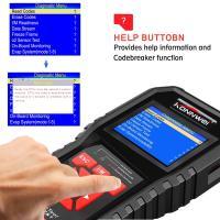 Buy cheap Colorful Screen Auto Diagnostic Fault Code Reader Tool KW850 OBD2 Original Car Diagnostic Scanner product