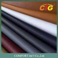 Buy cheap 100% PVC 140cm Width 0.9mm Thickness Pvc Leather For Sofa / Car Seat Cover product