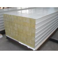 Buy cheap Rockwool steel sandwich panel for building wall and roof from wholesalers