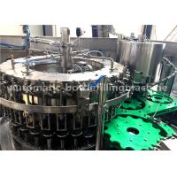 Buy cheap Carbonated Soda Beverage Glass Bottle Filling Machine / Packaging Equipment from wholesalers