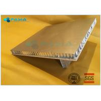 Buy cheap Rock Wool Backed Composite Stone Panels Cladding Module For Office Building from wholesalers
