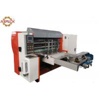 Buy cheap Automatic Corrugated Box Die Cutting Machine , Cardboard Box Die Cutting Machine from wholesalers