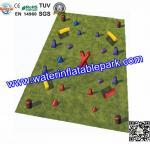 Buy cheap PVC tarpaulin Inflatable Paintball Bunker , Inflatable Bunkers Paintball from wholesalers