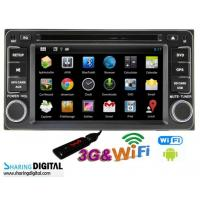 Buy cheap TOYOTA 1080P Android Double Din DVD Digital With 6.2 Inch Screen from wholesalers