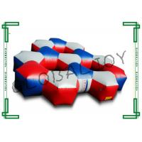 Buy cheap Commercial Inflatable Laser Tag Arena Fire Retardant 10m x 10m x 2.8m from wholesalers