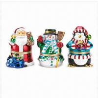 Buy cheap Resin Christmas Music Box Figurines, Christmas Decoration from wholesalers