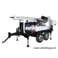 Buy cheap trailer mounted water well drilling rigs JDY200 portable drill machine high quality from wholesalers