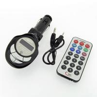 Buy cheap Car Mp3 Player Fm Transmitter Usb Pen Drive / Sd / Mmc Slot Electronics Products from wholesalers