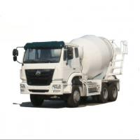 Buy cheap 30T 336HP Mobile Concrete Mixer Truck 6x4 12CBM 9.726L Displacement from wholesalers