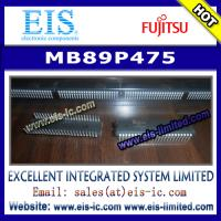 Buy cheap MB89P475 - FUJITSU - 8-bit Proprietary Microcontroller product