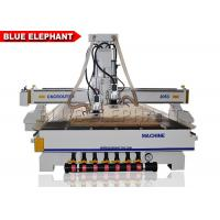 Buy cheap Vacuum Pump ATC CNC Router Electronics Cast Steel Gantry Moving Type from wholesalers