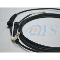 Buy cheap LC Multimode Optical Fiber Connectors With Outdoor Cable & 90 Degree Boot from wholesalers