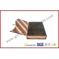 Buy cheap Magnetic Handmade Luxury Apparel Gift Boxes Covering With Golden Silk from wholesalers