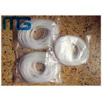 Buy cheap White Cable Accessories Exquisite Electric Spiral Wrapping Band For Wires from wholesalers