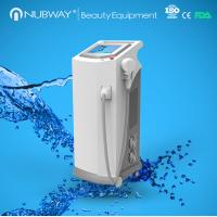 Buy cheap FDA Cleared World First Fiber Coupled painless 808 Diode Laser hair removal machine from wholesalers