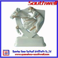 Buy cheap Polyresin horse trophy,awards plaque from wholesalers
