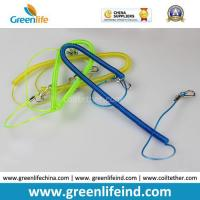 Buy cheap Safety Lobster Clasp Hook Flexible Fishing Line Coiled Belt from wholesalers