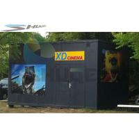 Buy cheap XD  Movie Theater Equipment, 3D 4D 5D Mobile Cinema Cabin For Indoor / Outdoor product